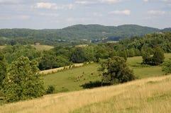 Une belle scène pastorale idyllique américaine de Image stock