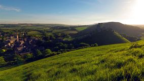 Une belle tache de photographie sur la côte ouest du sud de l'Angleterre, sur la côte jurassique photo libre de droits