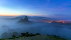Une belle tache de photographie sur la côte ouest du sud de l'Angleterre, sur la côte jurassique photos libres de droits