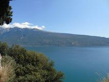Une belle vue à la ville de Trento Image libre de droits
