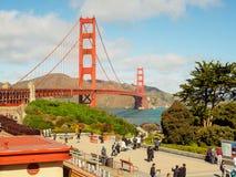 Une belle vue de golden gate bridge Image libre de droits