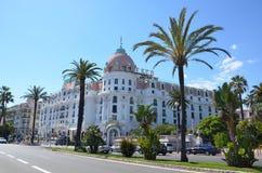 Une belle vue de la ville de Nice dans les Frances Photos libres de droits