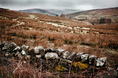 Photo de paysage de la vue dans Garsdale Photos stock