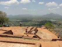 Une belle vue de Sigiriya Sri Lanka photographie stock libre de droits