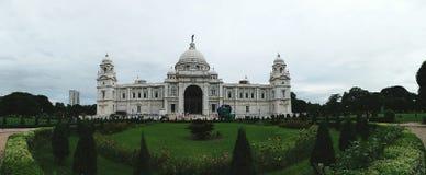 Une belle vue de Victoria Memorial célèbre image stock