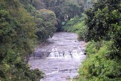 Une belle vue invisible de rivière photo stock