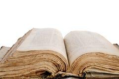 Une bible ouverte. Photographie stock libre de droits