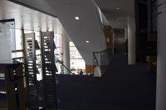 Une bibliothèque à Maastricht images libres de droits