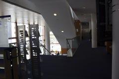 Une bibliothèque à Maastricht photo stock
