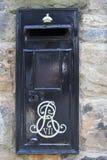 Une boîte aux lettres rare d'Edouard VII Image stock