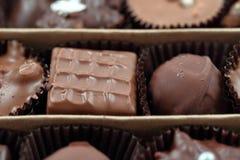 Une boîte de chocolat photo stock