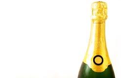 Une bouteille de Champagne Images libres de droits