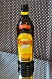 Une bouteille de liqueur de café Kahlua Photo stock