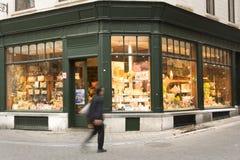 Une boutique de chocolat à Bruxelles Photo libre de droits