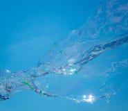Une bulle de savon Photos stock