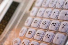 Une calculatrice élégante fraîche Photographie stock libre de droits