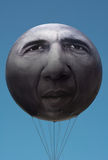 UNE campagne avec le Président Obama Balloon Image stock