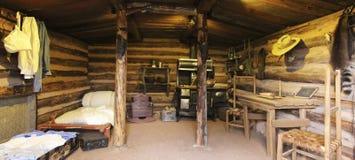Une carlingue de Haught chez Rim Country Museum Images stock