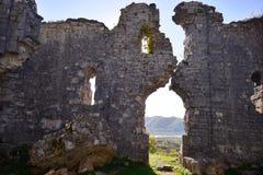 Une cathédrale ruinée Photo libre de droits