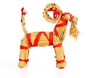 Une chèvre de Noël photo libre de droits