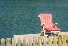 Chaise longue Photo libre de droits