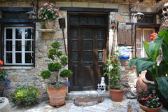 Une Chambre dans un de villages de la Chypre Image stock