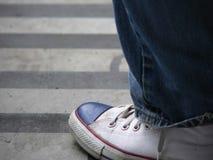 Une chaussure Images libres de droits