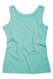 Une chemise de sports de turquoise Image stock