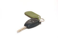 Une clé de véhicule Photo libre de droits