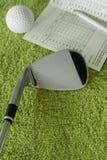 Équipement de golf Photo libre de droits