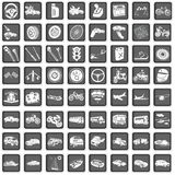 Icônes de transport Photos libres de droits