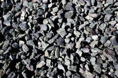 Une collection de roches image stock