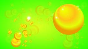 Une composition colorée des ballons illustration stock