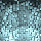 Une conception abstraite de cube - une image 3d illustration stock