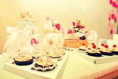 Une conception de fête de naissance Photographie stock libre de droits