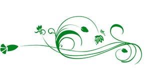 Une conception florale Images stock