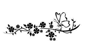 Une conception florale Photos libres de droits