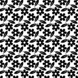 Une configuration sans joint florale. illustration stock