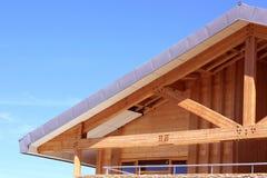 Une construction en bois Image libre de droits