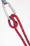 Une corde rouge Photos libres de droits