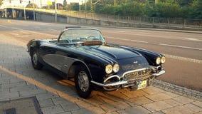 Une Corvette Images libres de droits