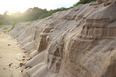 Une couche du sable Photographie stock libre de droits