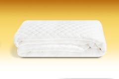 Une couverture de matelas capitonnée dans le coton fait main en Italie Images stock