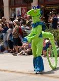 Une créature de mer verte Image libre de droits