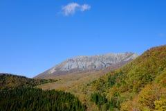 Une crête célèbre en préfecture de Tottori Image stock
