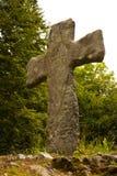 Une croix des Moyens Âges photographie stock libre de droits