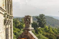 Une croix portugaise chrétienne Photographie stock libre de droits