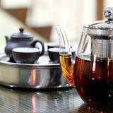 Une cruche de thé Images stock