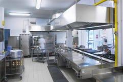 Une cuisine d'un restaurant photo stock