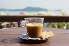 Une cuvette de café Images stock